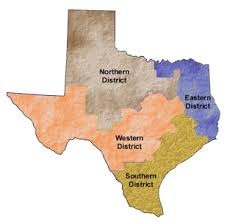 Map Of Texas Districts.District Court Maps Of Texas Ip Wire