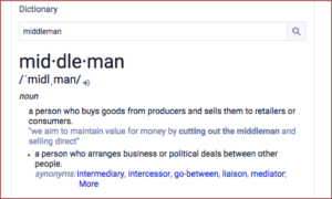 Middleman definition